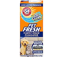 Arm & Hammer Carpet Odor Eliminator Plus OxiClean Pet Fresh - 42.6 Oz