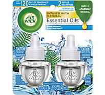 Air Wick Scented Oil Refill Fresh Waters - 2-0.67 Fl. Oz.