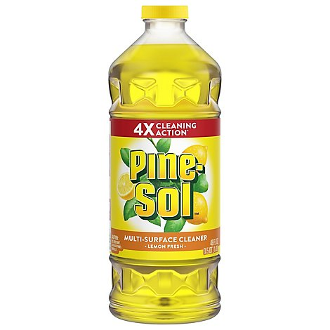 Pine-Sol Multi-Surface Cleaner & Deodorizer Lemon Fresh - 48 Fl. Oz.