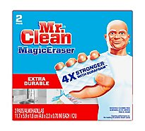 Mr. Clean Magic Eraser Cleaning Pads Extra Durable With Durafoam - 2 Count