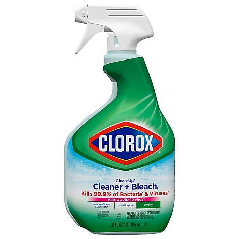 Clorox Clean-Up Cleaner + Bleach Original Economy Size - 32 Fl. Oz.