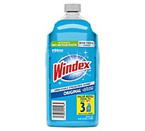 Windex Glass Cleaner Refill Original Blue 2 L