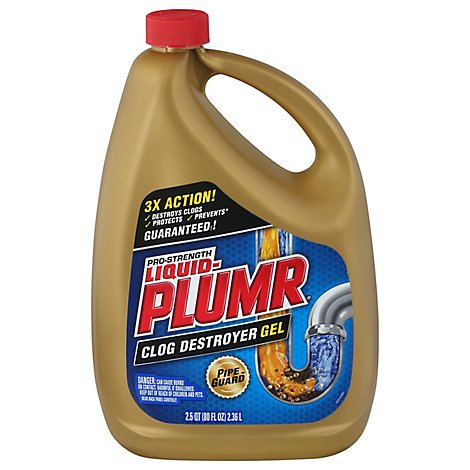 Liquid-Plumr Pro-Strength Full Clog Destroyer - 80 Fl. Oz.