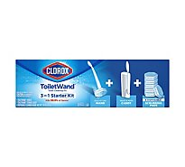 Clorox Toiletwand Starter Kit With Storage Caddy - Each
