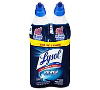 Lysol Toilet Bowl Cleaner Complete Clean Power Value Pack - 2-24 Fl. Oz.