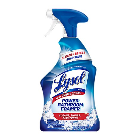 Lysol Bathroom Cleaner Power Soap Scum & Shine - 32 Fl. Oz.