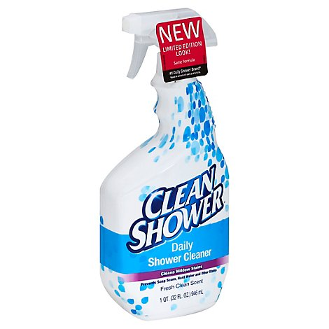 Clean Shower Daily Shower Cleaner Fresh Clean Scent - 32 Fl. Oz.