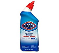Clorox Toilet Bowl Cleaner with Bleach Clean Rain - 24 Fl. Oz.