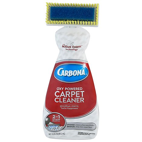 Carbona Carpet Cleaner Oxy-Powered 2 in 1 Value Size - 27.5 Fl. Oz.