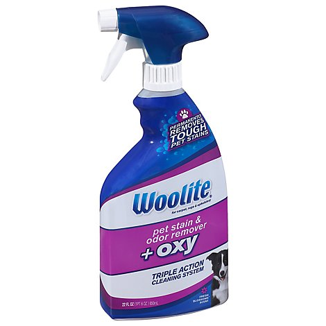 Woolite Pet Stain & Odor Remover + Oxy Fresh Blossoms - 22 Fl. Oz.