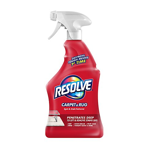 Resolve Stain Remover Carpet Cleaner Triple Oxi Action - 22 Fl. Oz.