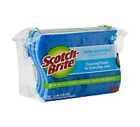 Scotch-Brite No Scratch Scrub Sponge - 6 Count