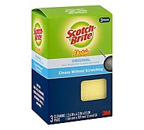 Scotch Brite Dobie Cleaning Pads - 3 Count