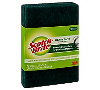 Scotch-Brite Scour Pads Heavy Duty - 3 Count