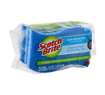 Scotch-Brite Sponges Scrub Non-Scratch Pack - 3 Count