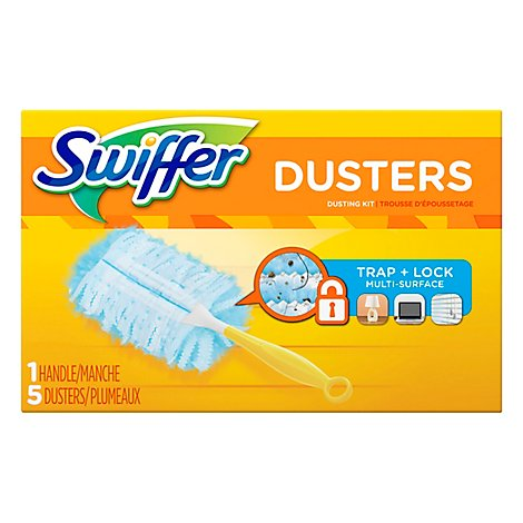 Swiffer Dusters Dusting Kit 1 Handle 5 Dusters - Each