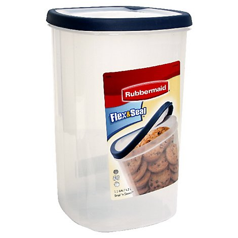 Rubbermaid 4.5 Quart Square Seal N Saver - Each