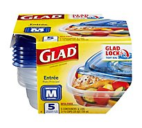 Glad Containers Entree - 5 Count