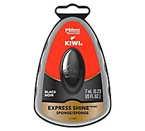 Kiwi Express Black Shoe Shine - .2 Fl. Oz.