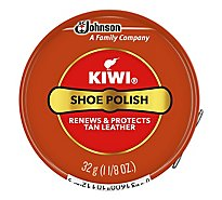 Kiwi Tan Paste Shoe Polish - 1.12 Oz