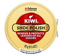 Kiwi Shoe Polish Neutral Paste - 1.12 Oz