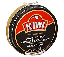 Kiwi Black Shoe Polish - 2.5 Oz