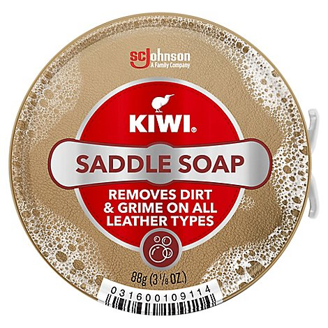 Kiwi Saddle Soap Neutral Paste - 3.12 Oz