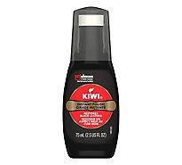 Kiwi Shoe Polish Black Liquid Wax - 2.5 Oz