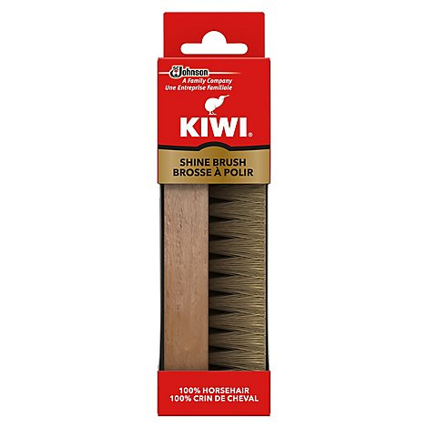 Kiwi Shoe Shine Brush - Each