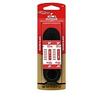 Kiwi Boot Laces Black 54 Inch - Pair