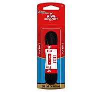 Kiwi 36 Inch Black Athletic Laces - Pair