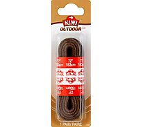 Kiwi Dark Brown Leather Lace 72 Inch - Pair
