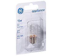 GE Light Bulbs Appliance T7 15 Watts - Each