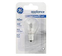 GE Light Bulbs Appliance S11 Microwave Oven 40 Watts - Each