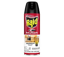 Raid Ant & Roach Killer 26 Fragrance Free 17.5 oz