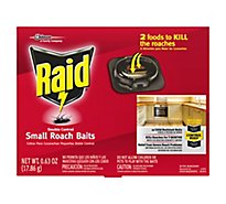 Raid Double Control Small Roach Baits (12 Ct)