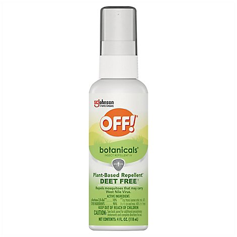 OFF! Botanicals Insect Repellent IV 4 fl oz (1 ct)