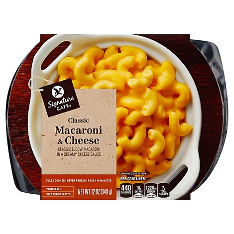 Signature Cafe Side Dish Macaroni & Cheese - 12 Oz