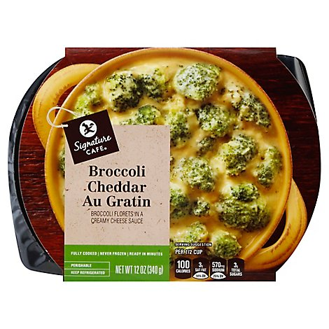 Signature Cafe Broccoli Cheddar Au Gratin - 12 Oz.