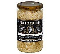 Sauerkraut Bubbies - 25 Oz