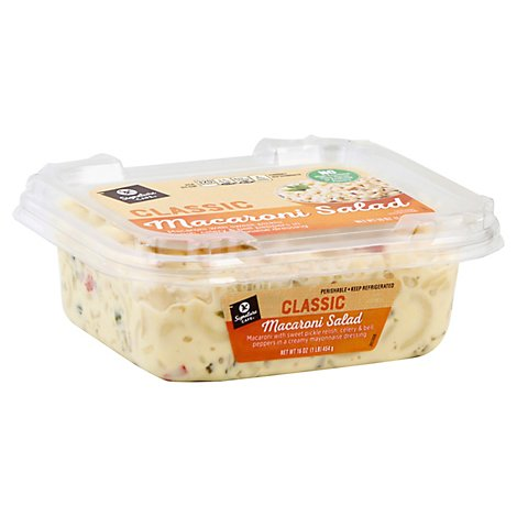 Signature Cafe Classic Macaroni Salad - 16 Oz