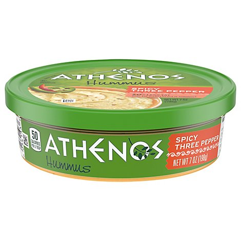 Athenos Hummus 3 Pepper - 7 Oz