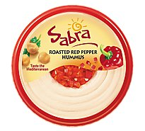 Sabra Hummus Roasted Red Pepper - 10 Oz