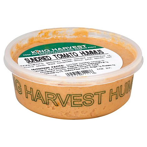 King Harvest Hummus Sundried Tomato - 7 Oz