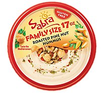 Sabra Hummus Roasted Pine Nut - 17 Oz
