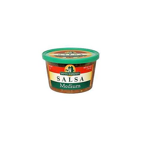 Santa Barbara Salsa Medium - 16 Oz