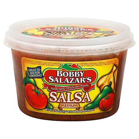 Bobby Salazars Salsa Medium - 15 Oz