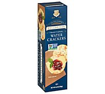 Wellington Water Crackers Traditional - 4.4 Oz