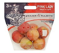 Apples Pink Lady Prepacked - 3 Lb
