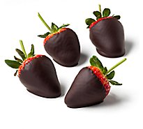 Strawberries Chocolate Hand Dipped 4 Count - Each